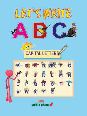 Let's Write ABC — Capital Letters