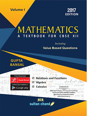 Mathematics - CBSE XII (Volume I)