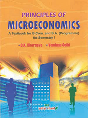 Principles of Microeconomics B.Com & B.A.