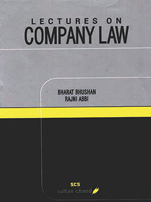 Lectures on Company Law