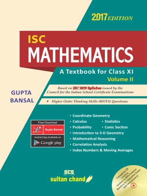 ISC Mathematics - Class XI (Volume II)