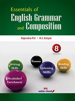 Essentials of English Grammar & Composition (New) - 8