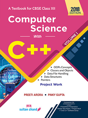 Computer Science With C++ - CBSE XII (Vol. I)