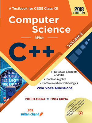Computer Science With C++ - CBSE XII (Vol. II)