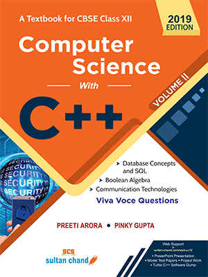 Computer Science With C++ - A Textbook for CBSE Class XII (Vol. II)