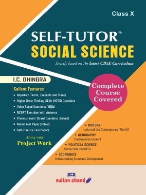 Self-Tutor Social Science - CBSE X