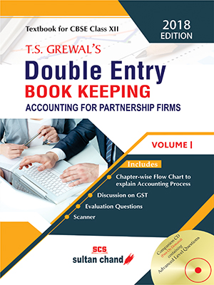 T.S. Grewal's Double Entry Book Keeping - CBSE XII (Vol. I: Accounting for Partnership Firms) (E)