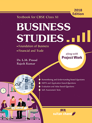 Business Studies - A Textbook for CBSE Class XI