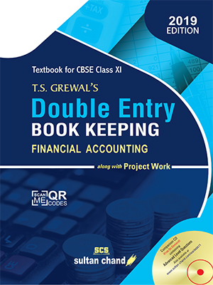 T.S. Grewal's Double Entry Book Keeping - CBSE XI (Financial Accounting) (E)