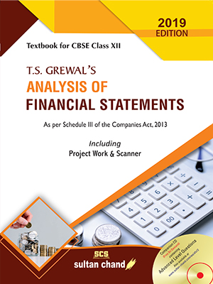 T.S. Grewal's Analysis of Financial Statements - CBSE XII (E)