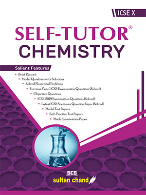 Self-Tutor Chemistry - ICSE X