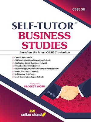 Self-Tutor Business Studies - CBSE XII