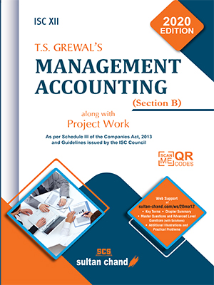 T.S. Grewal's Management Accounting - ISC XII (Section B)