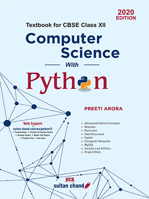 Computer Science with Python: Textbook for CBSE Class XII