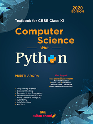 Computer Science with Python - Textbook for CBSE Class XI