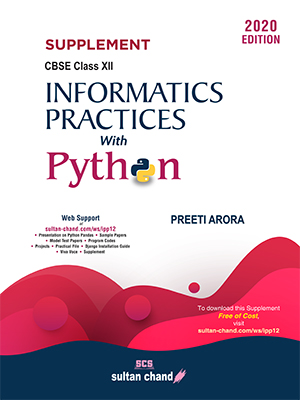SUPPLEMENT -Informatics Practices  with Python -12